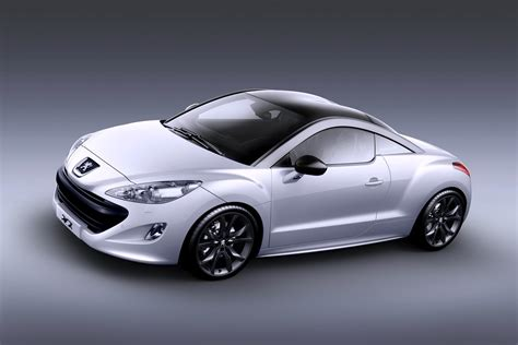 peugeot sport car peugeot rcz sports coupe wallpaper