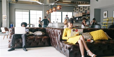 Shared Living Room And Office Space Wework Building Global Startup Community Now Worth 5b
