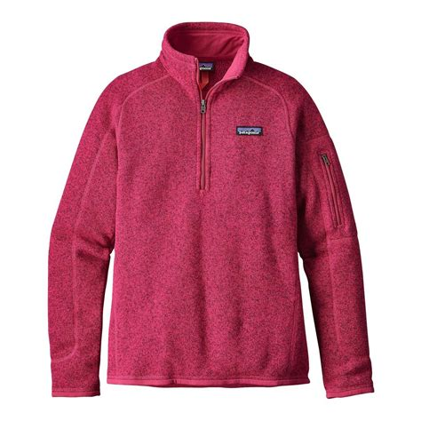 Zipper Sweater Jaket 1 patagonia better sweater 1 4 zip fleece jacket s skicountrysports