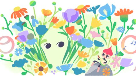 spring equinox google doodle when does the season really spring equinox google doodle introduces quinn an animated