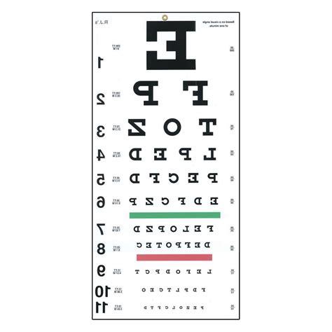 free printable snellen eye test chart image gallery snellen