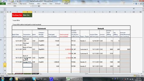 bookkeeping templates simple excel bookkeeping template seldelaterre