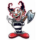 Home / Cartoons Other Evil Clown Decal