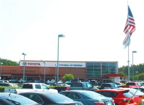 Mall Of Ga Toyota Autonation Toyota Scion Mall Of Car Dealership In