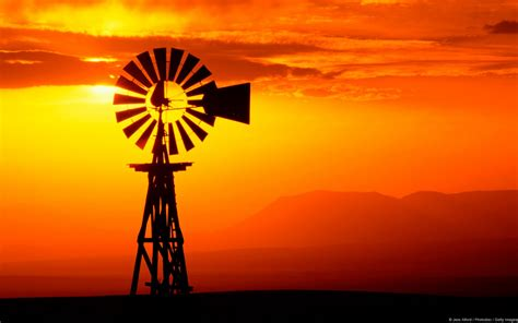 Berapa Sho Natur windmill sunset jpg 1600 215 1000 wall