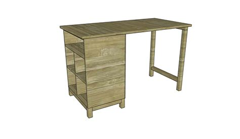 Build A Desk by How To Build A Desk Free Outdoor Plans Diy Shed