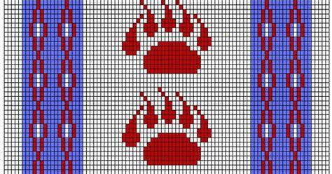 Perlenweben Vorlagen Muster Printable American Beading Patterns Images