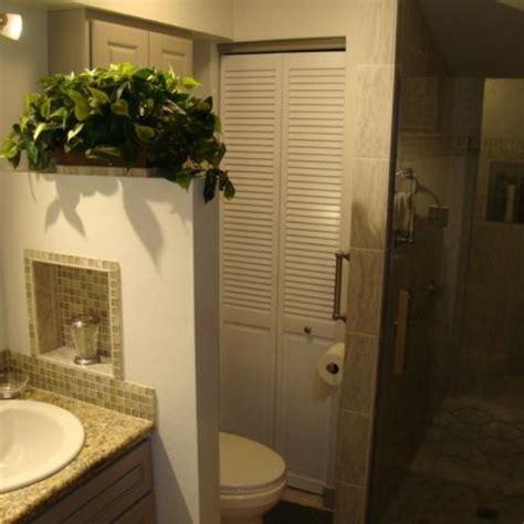 custom shower  stone pebble pan pony wall  niches