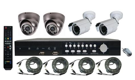 Rs 20m Cctv Power Cable dvr kit 4ch viper 2696 4cam 600tvl special dvr