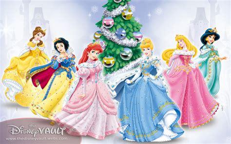 wallpaper disney natale principesse disney immagini natale disney princesses hd
