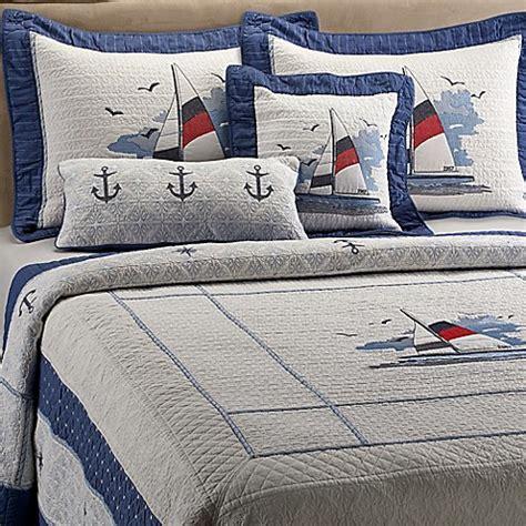 donna sharp bedding donna sharp sailboat quilt bed bath beyond