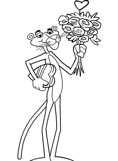 pink panther coloring pages black pink panther pages coloring pages