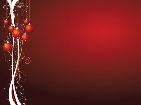 xmas theme powerpoint templates christmas red free