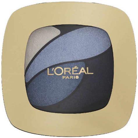 L Oreal Blue l or 233 al cosmetics color riche eyeshadow e8 blue
