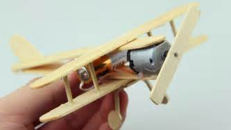 How To Make A Model Airplane Out Of Paper - how to make a plane with dc motor wooden plane diy