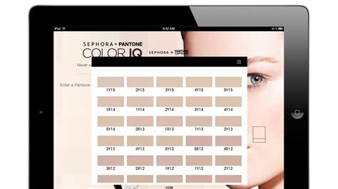 Sephora Knows Is More Than Skin by Sephora Pantone Color Iq Knows Your Skin Tone Better