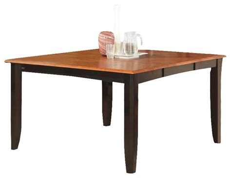butterfly leaf dining tables parfait square table with 18 quot butterfly leaf black
