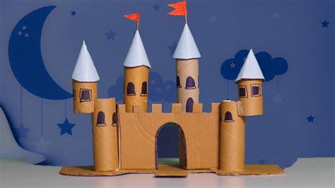 castle craft for cardboard castle diy diy crafts