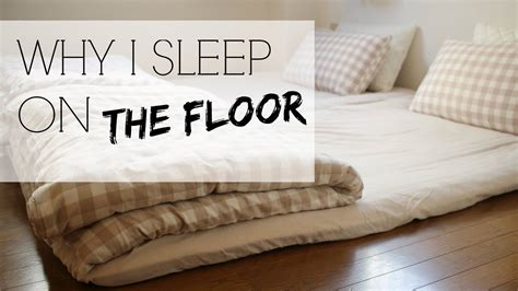 sleep   floor japanese futons youtube
