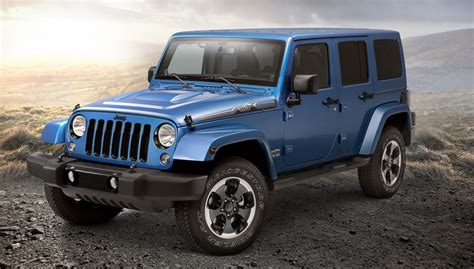 Jeep Edition Jeep Wrangler Polar Edition Arrives Just In Time For Winter