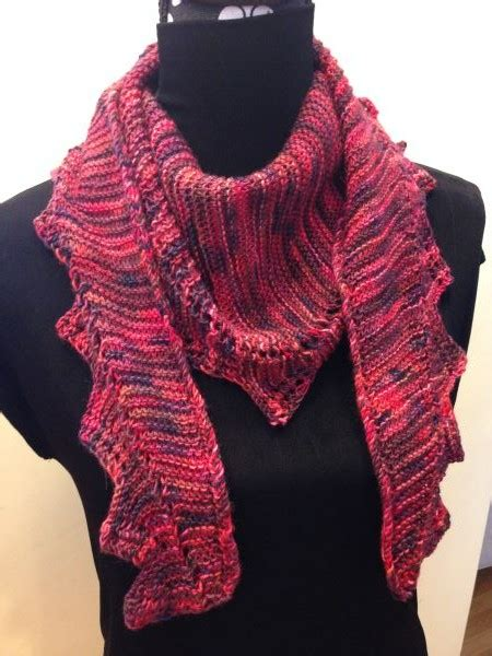 zig zag knitting pattern scarf zig zag scarf knits and that