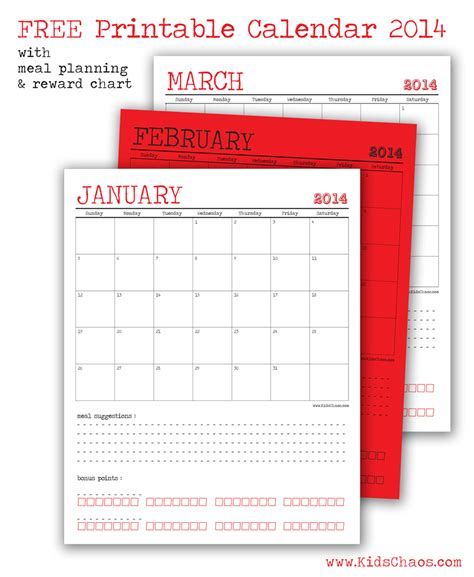 free calendar template 2014 28 images shining
