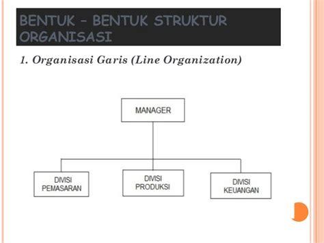 membuat bagan struktur organisasi garis lini struktur organisasi