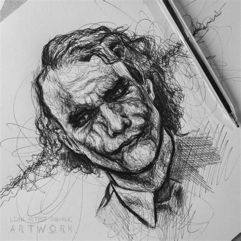 Sketches Drawings by Joker Drawing Sketch Hd Drawing Carl Galoyo Drawings