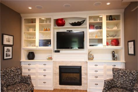 Built In Bookcases Fireplace Frayne Custom Cabinets Fraynes Custom Cabinets Kitchen