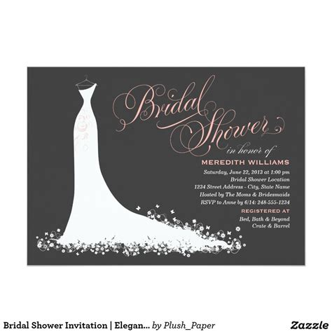 Shower Invitations by Bridal Shower Invitations Bridal Shower Invitations