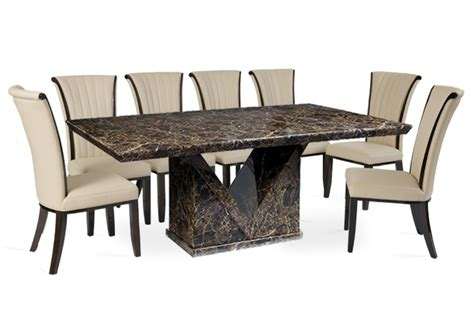 contemporary 10 seater dining table