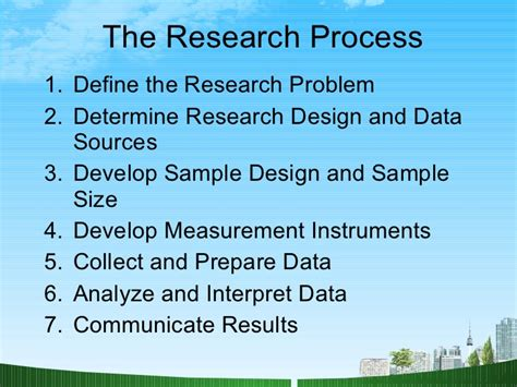 Mba 562 Marketing Research Methods by Marketing Research Ppt Mba