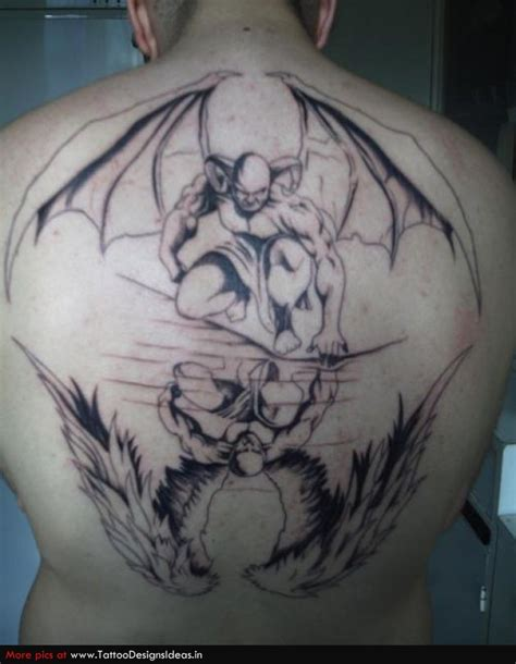 angel vs demon tattoo tattoos and designs page 127