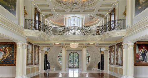 grand foyer larry house alabama mansion largest house in america