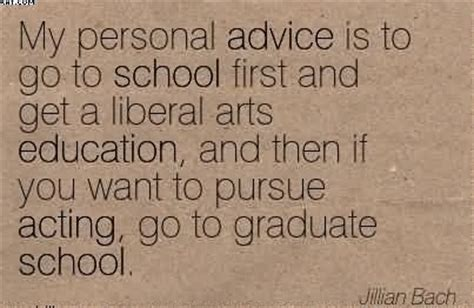 Liberal Arts Grad Mba by My Personal Advice Is To Go To School And Ge By