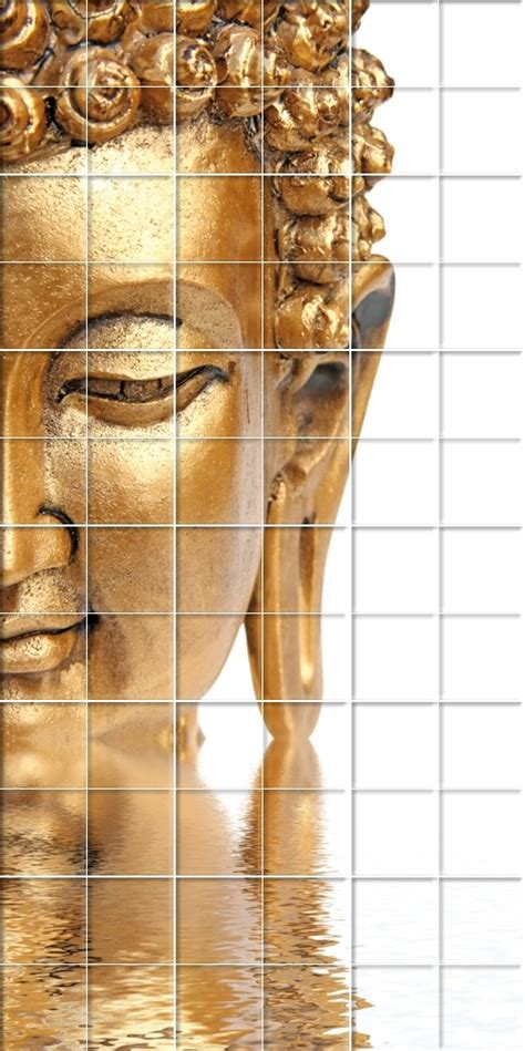 tile wall stickers wallstickers folies buddha tiles wall stickers