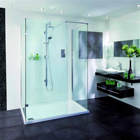 aqata spectra walk in 3 sided shower enclosure sp415 uk