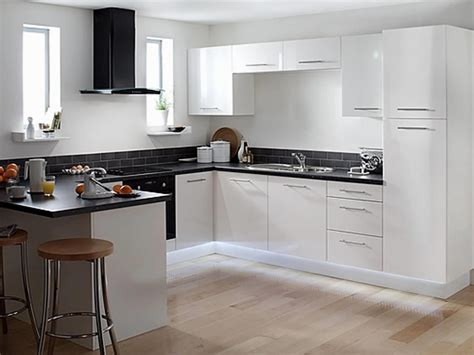 Kitchens With Black Appliances Ideas E2 80 94 Kitchen White Kitchen Cabinets With Black Appliances