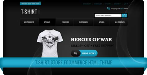 html themes online store t shirt store ecommerce html themes themeforest