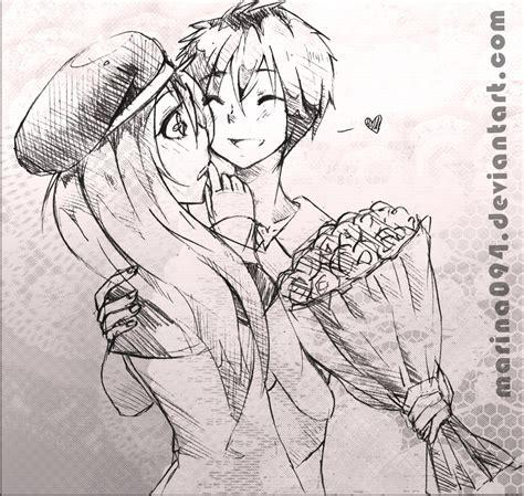 imagenes de anime love kiss animes love para dibujar imagui