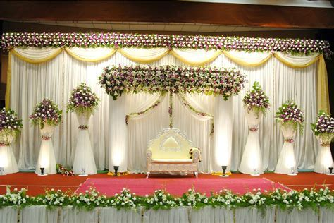 1 flowers satege decoration   get organised Wedding plan
