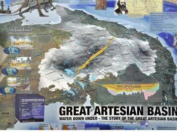 australian map   great artesian basin brisbane opal