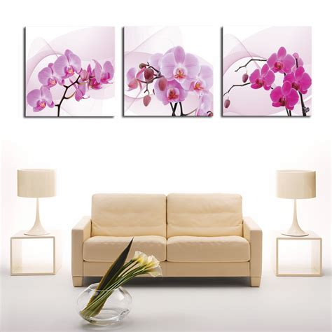 3 panel hd print cheap decorative flower abstract modern online buy wholesale butterflies artwork from china