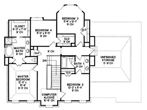 second empire floor plans southern style house plan 4 beds 2 5 baths 2630 sq ft