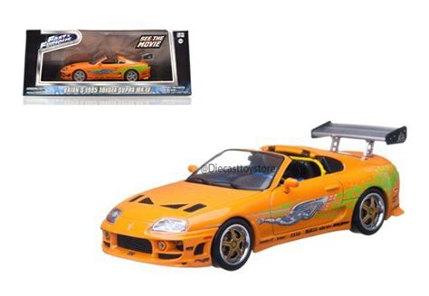 Sticker Lateral Tuning Supra Rapido Y Furioso by Greenlight 1 43 Fast Furious Brian S 1999 Toyota Supra