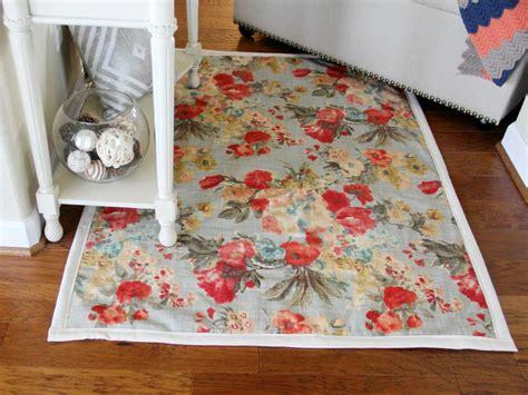 easy sew and no sew for rugs diy