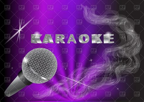 clipart royalty free karaoke background royalty free vector clip