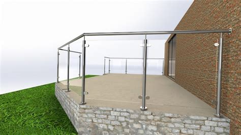 Glass Patio Railing Systems by A Garden Patio Balustrade Solution Elite Balustrade