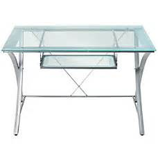 Office Depot Glass Desk Office Furniture Metal Desks Glass Desks Office Depot Officemax