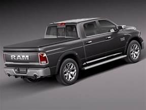 dodge ram 1500 laramie limited 2015 3d model cgstudio